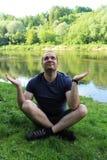 meditation arkivbild