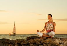 Meditation. Stock Photos