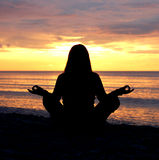 Meditation #7 royalty free stock photography