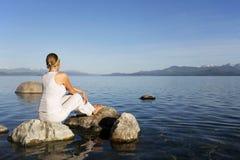 Meditation Stockfotografie