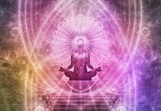 Free Meditation Abstract Spiritualism Yoga Concept Stock Image - 101638171
