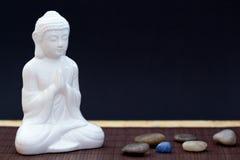 Meditation altar Royalty Free Stock Image