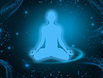 Meditation background Royalty Free Stock Images