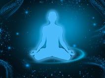 Meditation background Royalty Free Stock Images