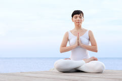 Meditation and balance Stock Images