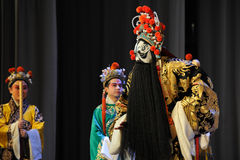 Meditation-Beijing Opera: Farewell to my concubine. Farewell to My Concubine is the art of Beijing Opera master Mei Lanfang performances of the Mei School of Stock Image