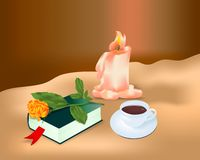 Meditation, cdr vector Stock Photo