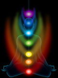 Meditation, chakras Royalty Free Stock Photo
