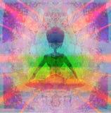 Meditation - Chakras Stock Photo