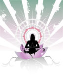Meditation  composition Royalty Free Stock Photo