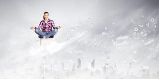 Meditation concept Royalty Free Stock Photo