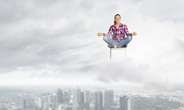 Meditation concept Stock Images