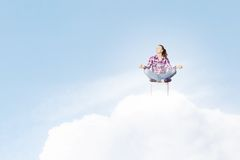Meditation concept Stock Photography