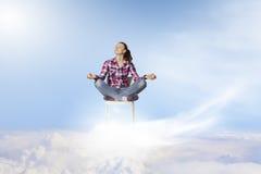 Meditation concept Stock Photos