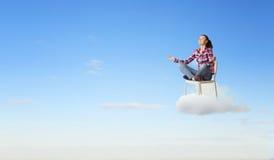 Meditation concept Stock Photography