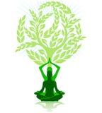 Meditation exercise Royalty Free Stock Images