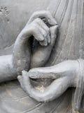 Meditation gesture Stock Image