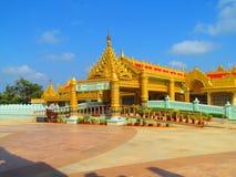 Meditation hall. Its photo of meditation hall at Global pagoda, Mumbai in India royalty free stock photos