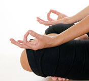 Meditation Hand Position Royalty Free Stock Image