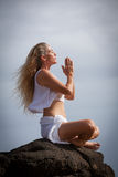 Meditation in Hawaii Stock Photos