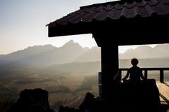 Meditation Hut Royalty Free Stock Photography