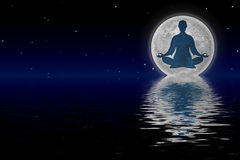 In Meditation Royalty Free Stock Images