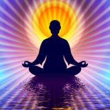 In Meditation Royalty Free Stock Image