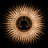 In Meditation Royalty Free Stock Photography