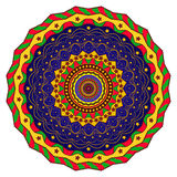 Meditation mandala. For relax time Royalty Free Stock Photos