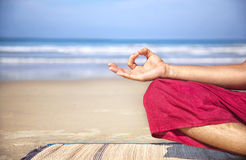 Meditation mudra Royalty Free Stock Photos