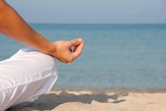 Free Meditation On The Beach Royalty Free Stock Photography - 15814457
