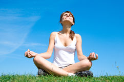 Free Meditation On The Meadow Stock Image - 10116791