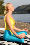 Meditation outdoor Stock Photos