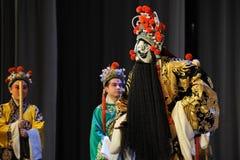 Meditation-Peking-Oper: Abschied zu meiner Konkubine Stockbild