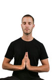 Meditation Pose Stock Photo