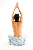 Meditation-Pose Stock Images