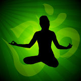 Meditation pose Royalty Free Stock Images