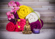 Meditation and relax.Take it easy Stock Photography