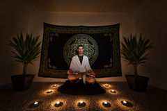 Meditation Ritual Royalty Free Stock Images