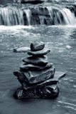 Meditation Rocks Royalty Free Stock Image