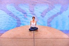 Meditation Series 1 Stock Photo