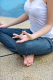 Meditation Series 3 Royalty Free Stock Photos