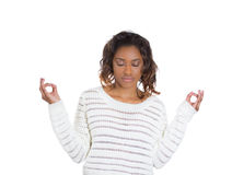 Meditation, stress relief concept Royalty Free Stock Photography