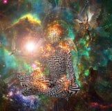 meditation ilustração royalty free