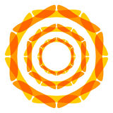 Meditation symbol Stock Photography