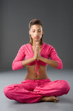 Meditation time Royalty Free Stock Photography