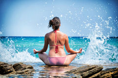 Meditation time Royalty Free Stock Images