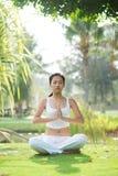 Meditation time Stock Image