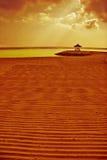 Meditation unter Himmel von Asien Lizenzfreie Stockfotos