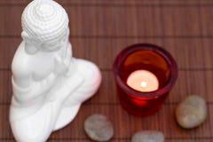 Meditation von oben Stockfotos